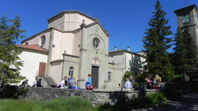 Verso Fradusto, Sant'andrea e Cà dei Baldini