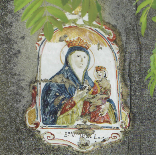Pilastrino di Cà di Andrione - Madonna di S.Luca
