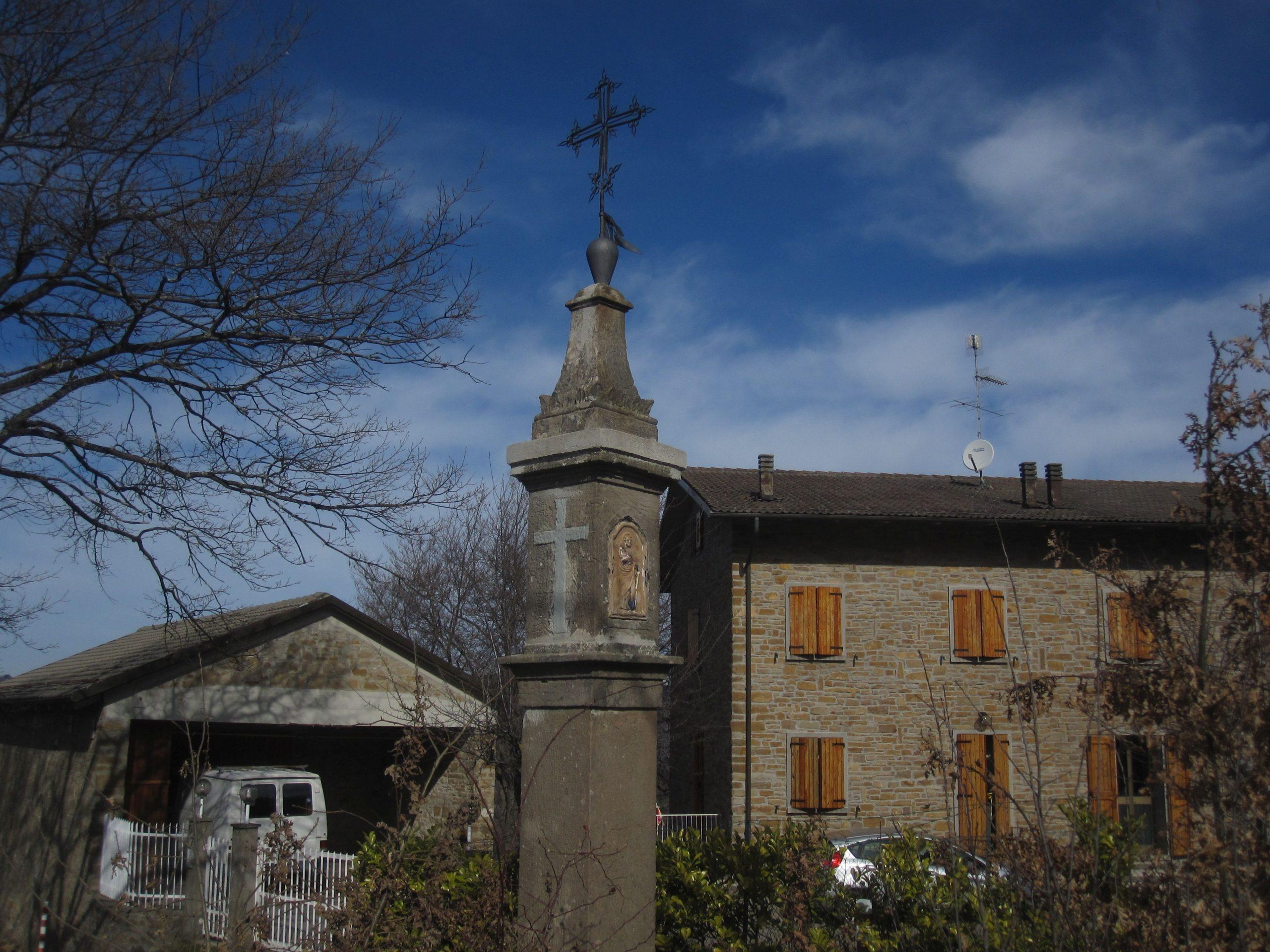 Pilastrino di Cà d'Anè a Fradusto, Monghidoro