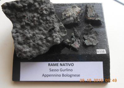 Rame nativo di Gurlano - Foto dal Museo Bombicci