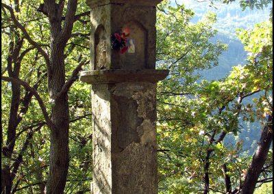 Vergiano - pilastrino Sulla strada per Sant'Andrea Val Savena