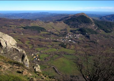 Monte Canda visto da Monte Beni - Foto di Gianni Gitti (2012)
