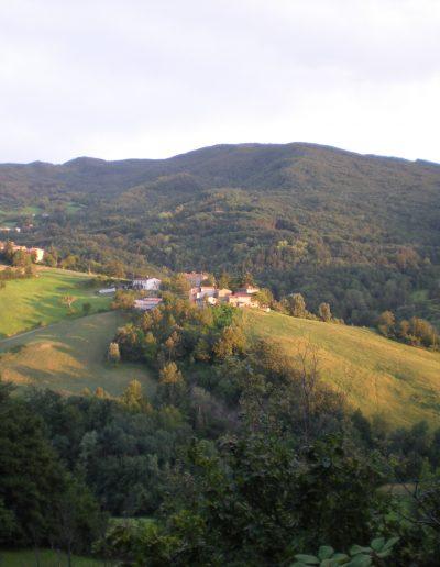 Panorama da Cà del Tosco