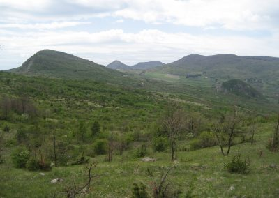 Panorama da Tre Poggioli
