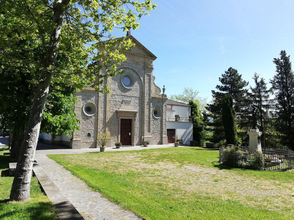Vergiano - Croce con Immagine di Santa Lucia